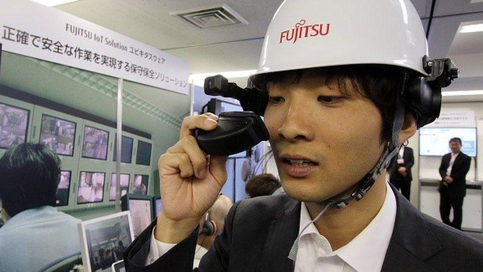 Fujitsu engineer