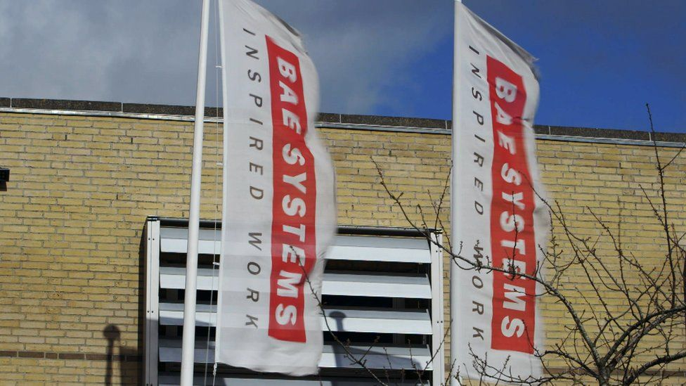 BAE Systems headquarters in Denmark