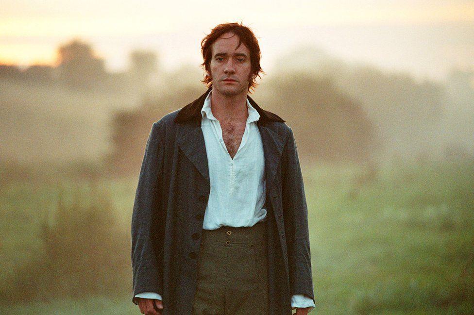 Matthew Macfadyen as Mr Darcy in the 2005 film