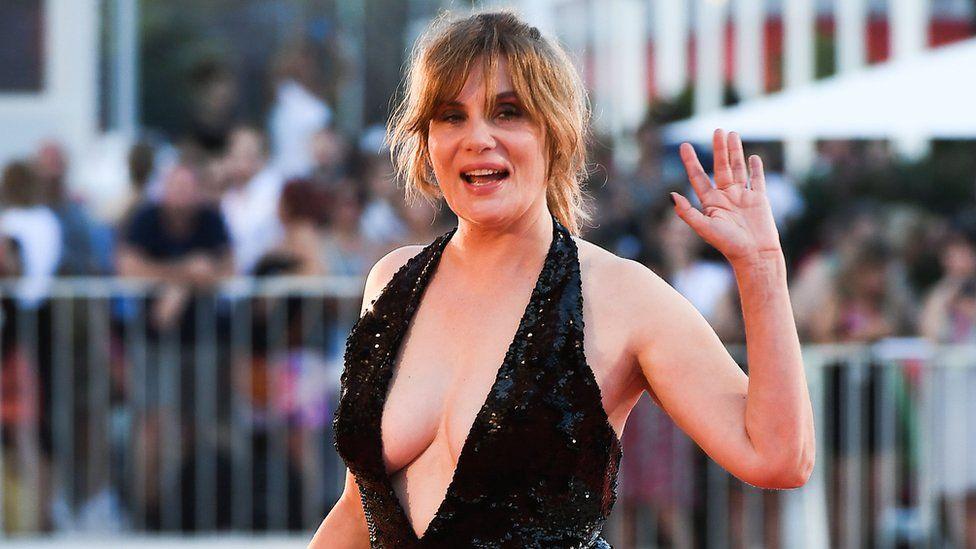 Polanski's wife Emmanuelle Seigner