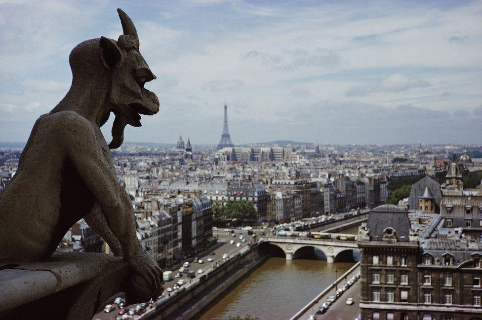 Gargoyle on Notre Dame