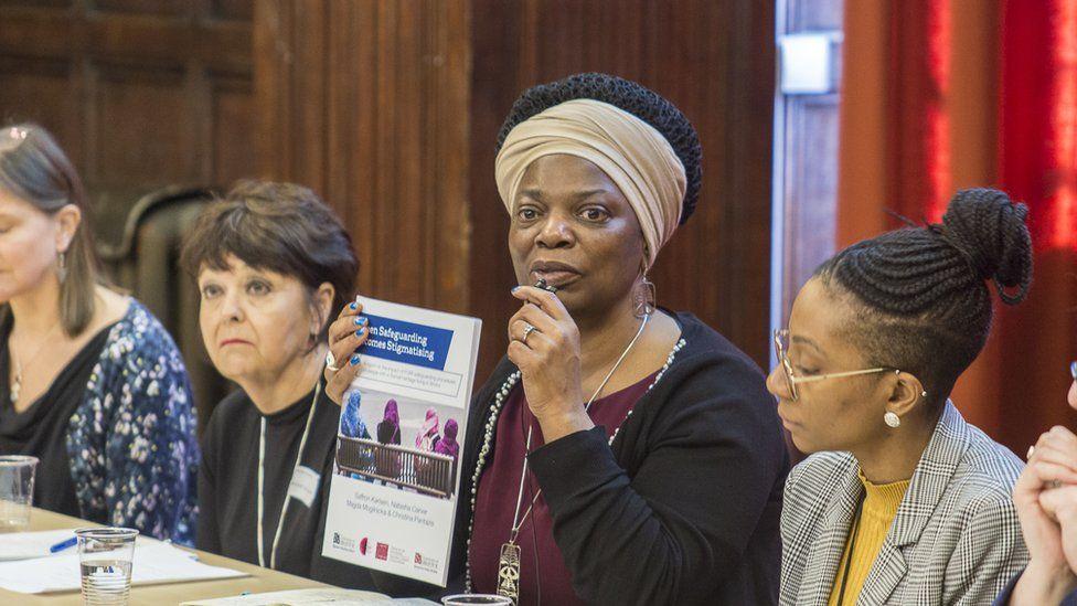 Women on report panel