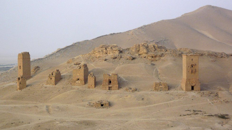 Valley of Tombs, August, 2010