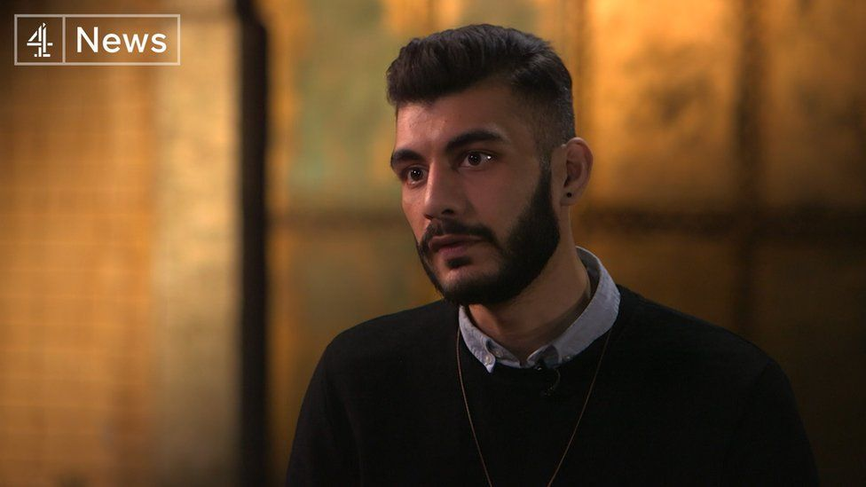 Shahmir Sanni on Channel 4 News
