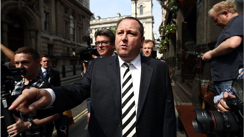 Sports Direct investors rebel against Mike Ashley