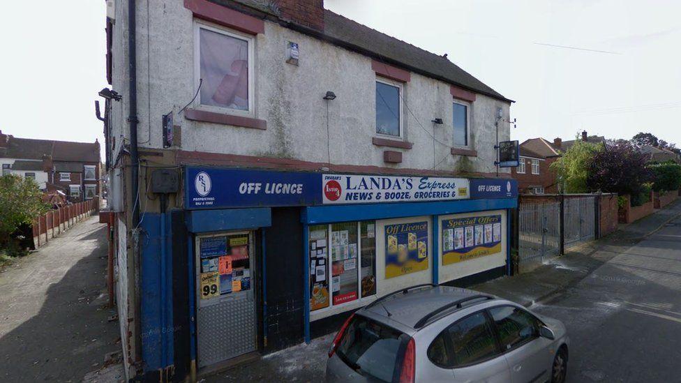 Corner shop on Hickleton Street, Denaby, Doncaster