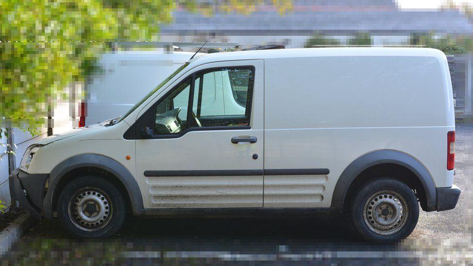 The van involved