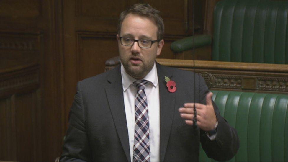 Chris Elmore in Commons