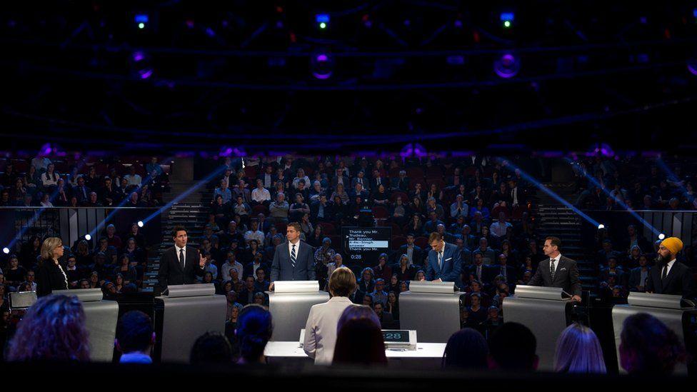 Canadian election debate