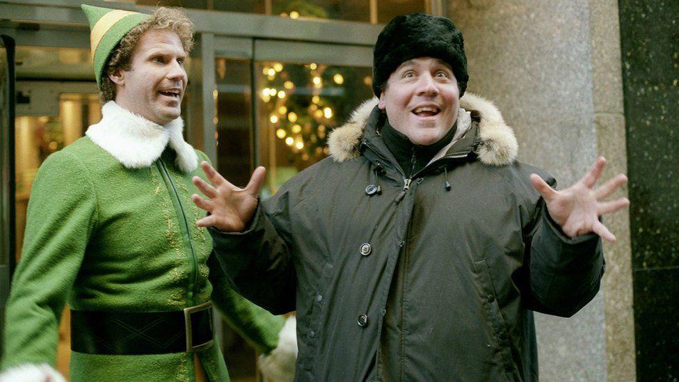 Will Ferrell and Jon Favreau together in Elf