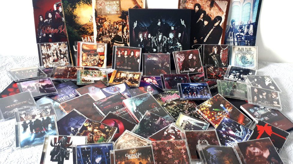 Kathryn Kyle's album collection