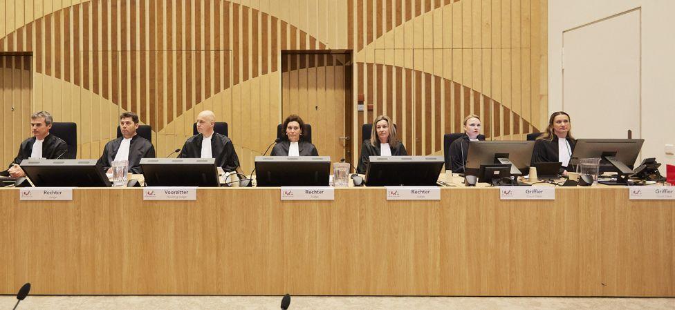 Judges in court, 9 Mar 20