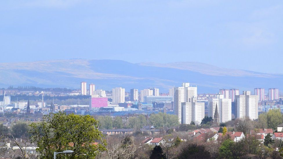 Glasgow high rises