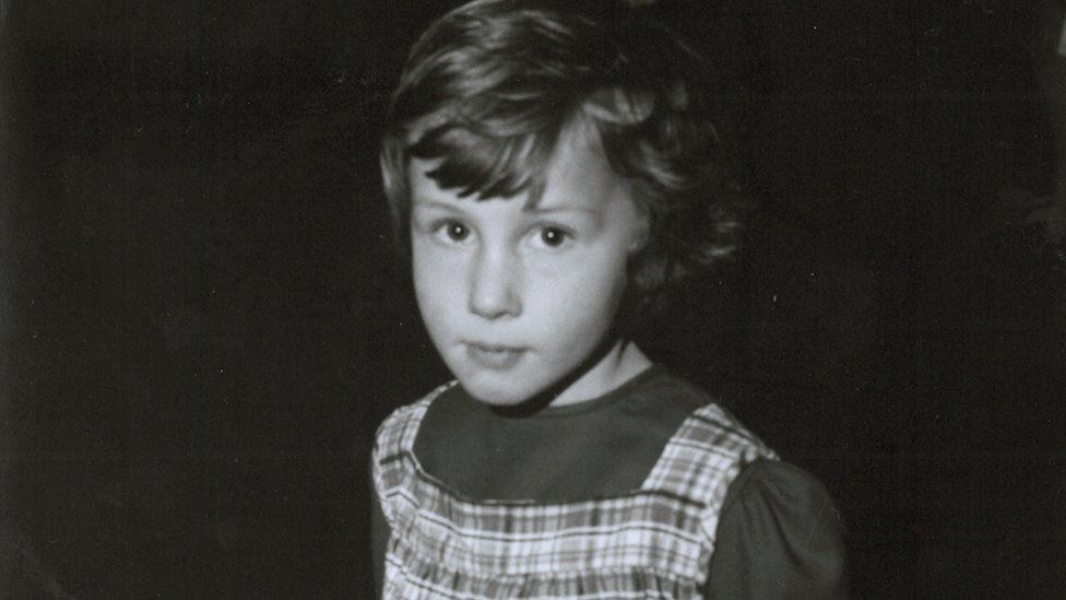 Kate Osborne aged 5