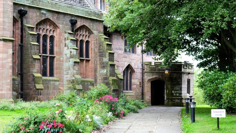 Exterior of St Mary's Church, Prestwich, Greater Manchester