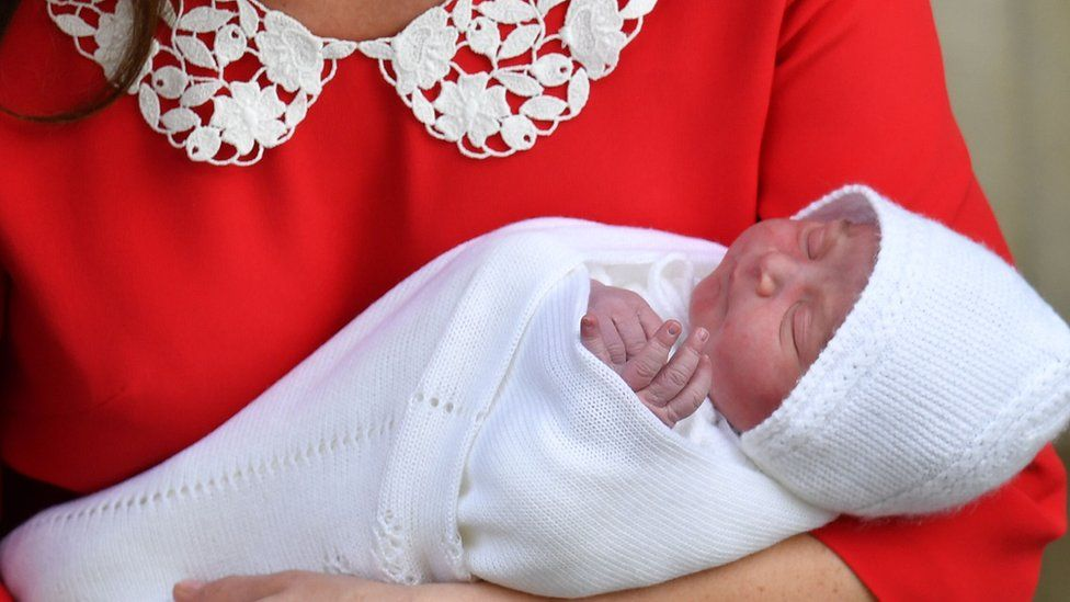 Duke and Duchess of Cambridge's newborn son