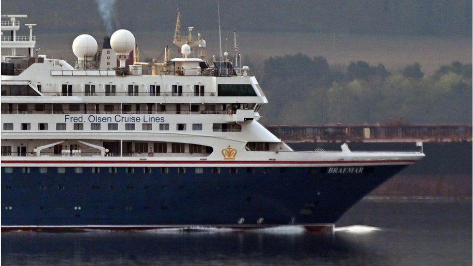 A Fred Olsen ship