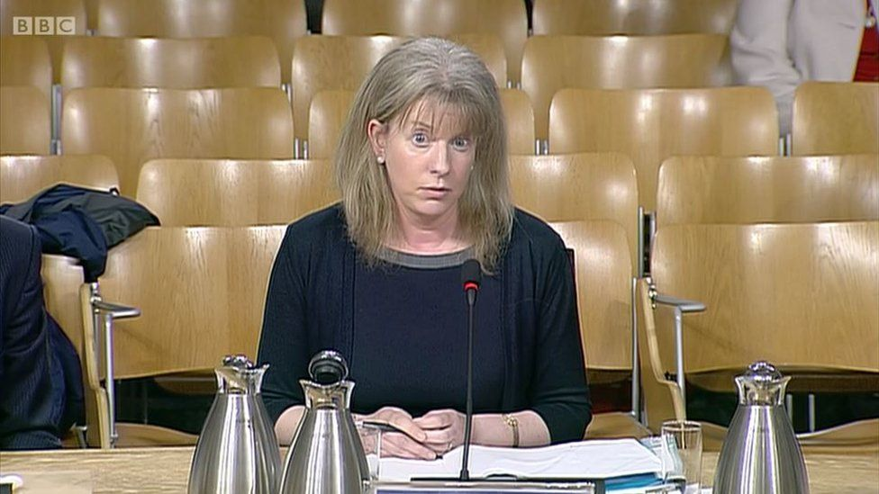 Shona Robison at committee