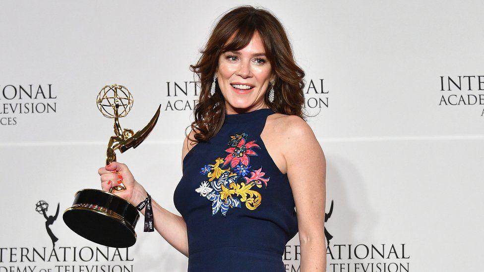 Anna Friel at the International Emmy Awards