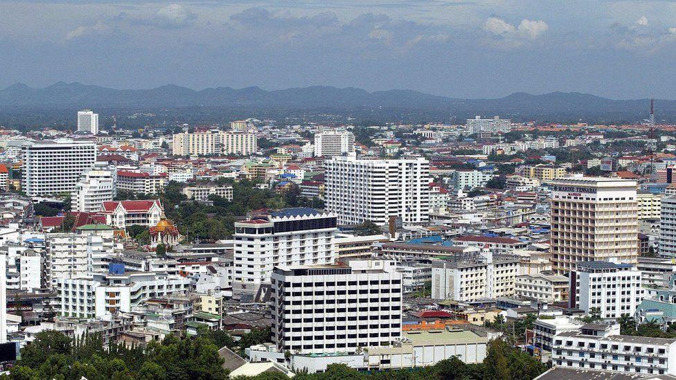 Skyline of Pattaya, 2006