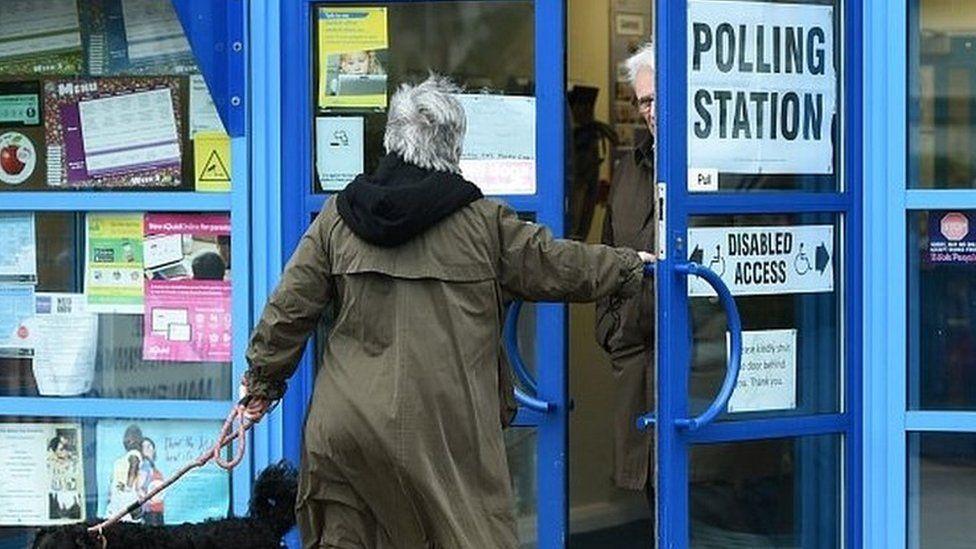 Stoke-on-Trent polling station
