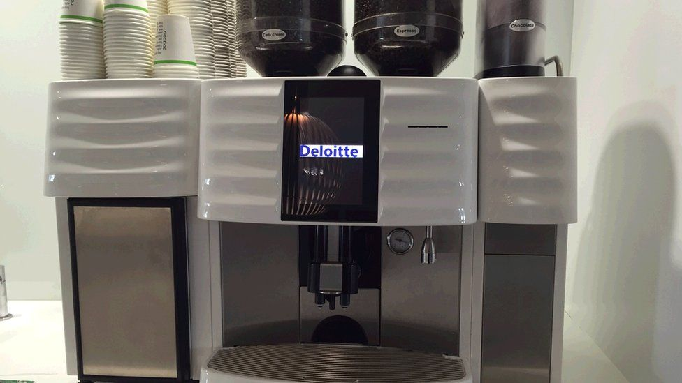 Coffee machine, Deloitte