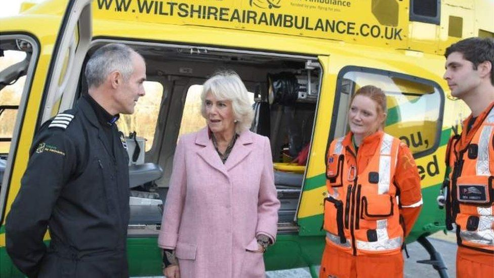 Official opening of the Wiltshire Air Ambulance on 14th Dec 2018
