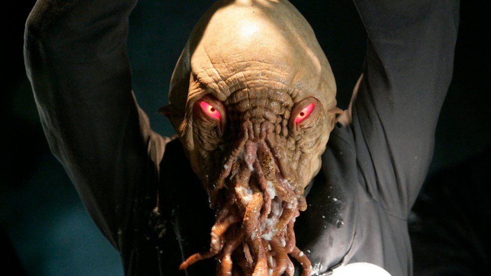 An Ood from an episode of Dr Who