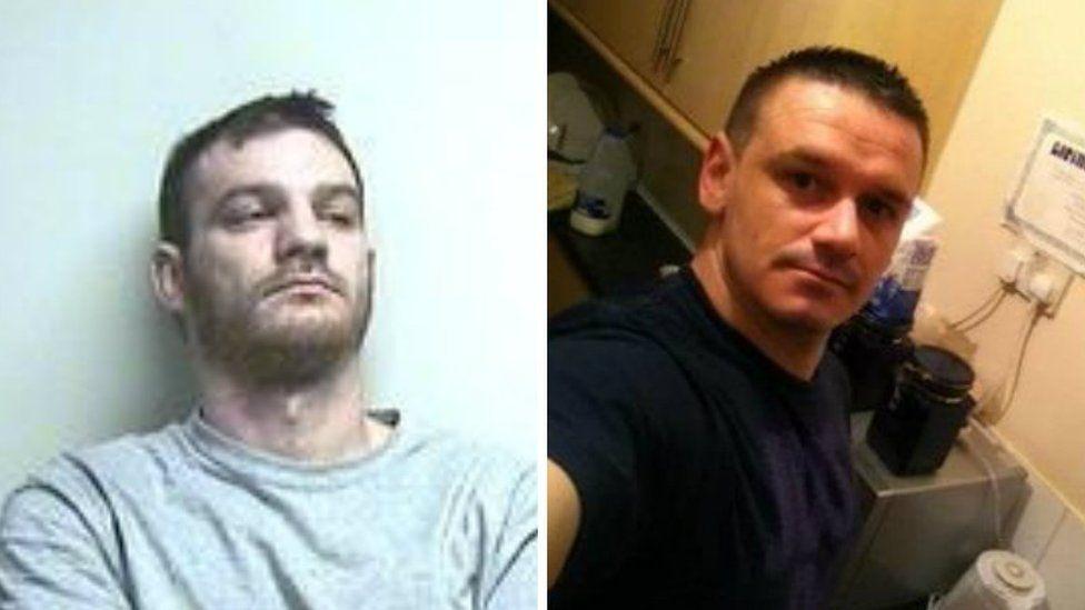 Kieran Davies (L) had denied murdering Ashley Hawkins (R)
