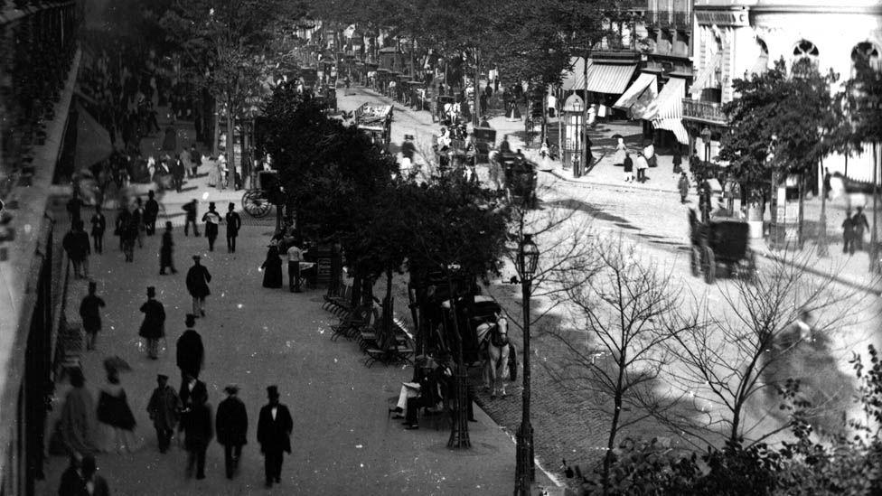 Paris circa 1860