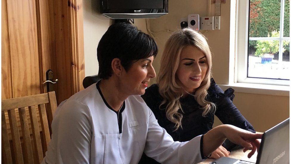 Shennagh Lundy and Nurse.