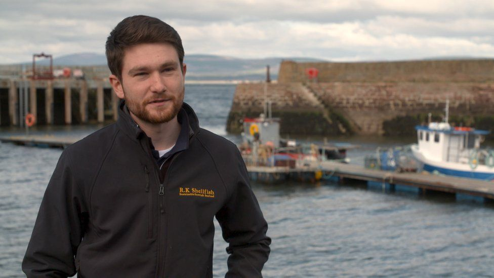 Rhys Kennedy had been selling the shellfish he caught to Spain