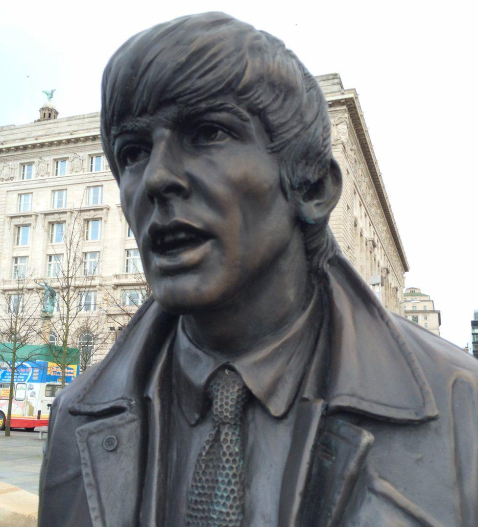 George Harrison statue