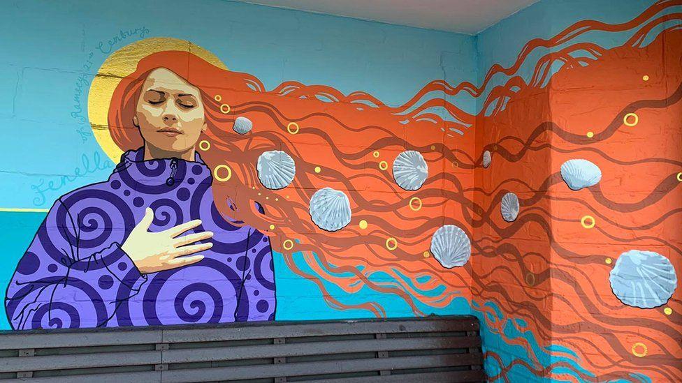 Beth Louella's Fenella mural