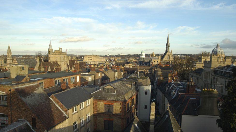 Oxford city centre