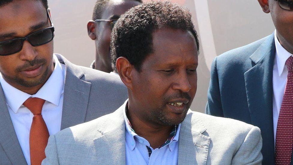 Mogadishu Mayor Abdirahman Omar Osman