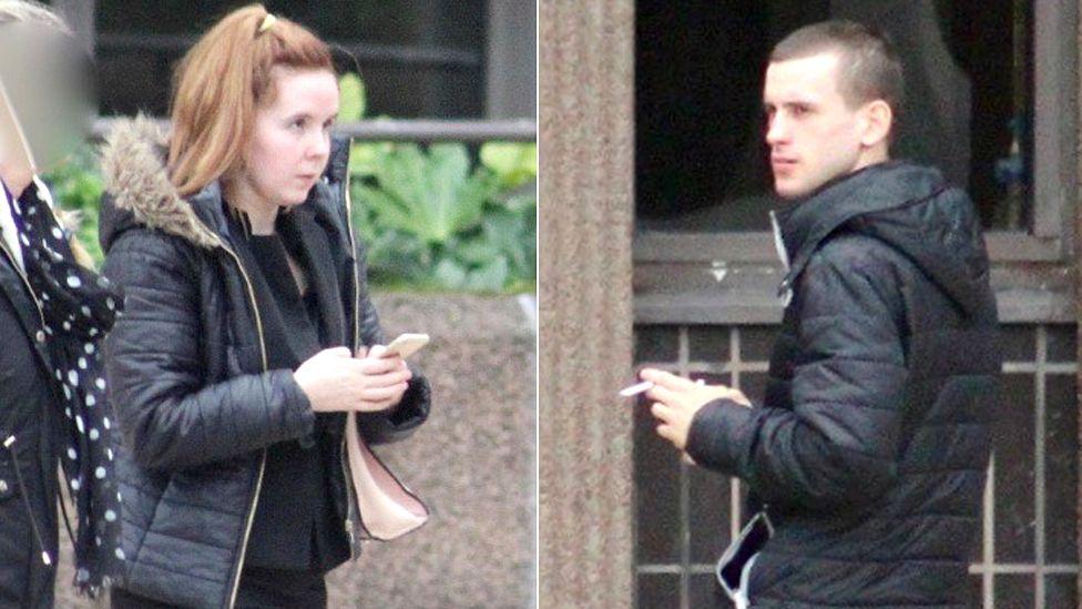 Lauren Coyle and boyfriend Reece Hitchcott