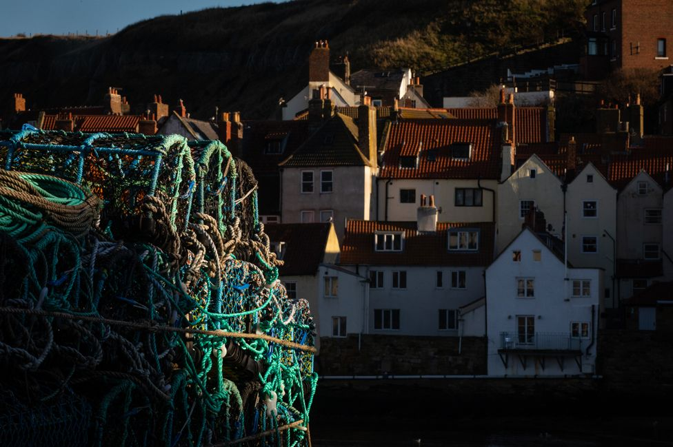 Fishing creels in Whitby