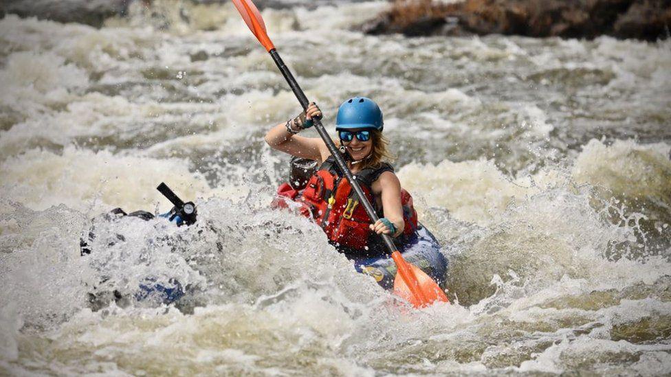 Pip kayaking