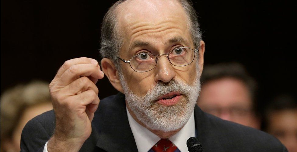 Frank Gaffney, founder and president of the Center for Security Policy, testifies during a hearing of the Senate Judiciary Committee July 24, 2013 in Washington, DC.