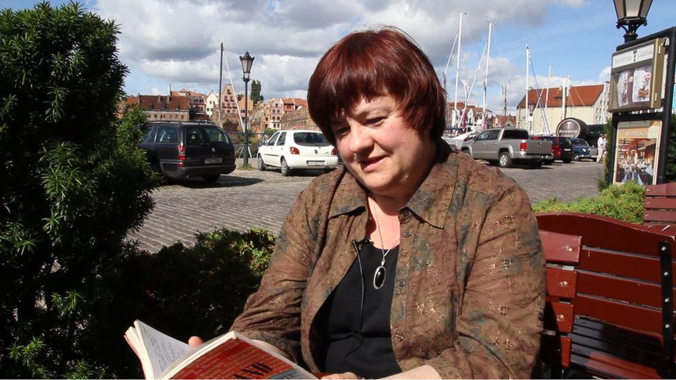 Krystyna Wroblewska in Gdansk