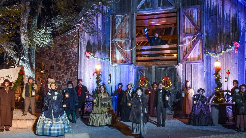A Christmas Carol at the Lyric Theatre in Oklahoma City