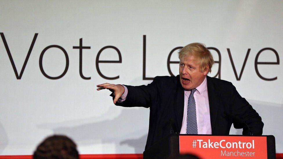 Boris Leave campaign speech