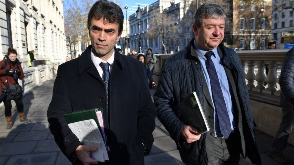 Tom Brake and Alistair Carmichael
