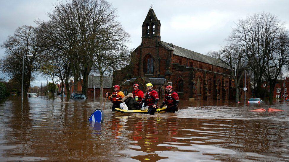 Flooding in Carlisle