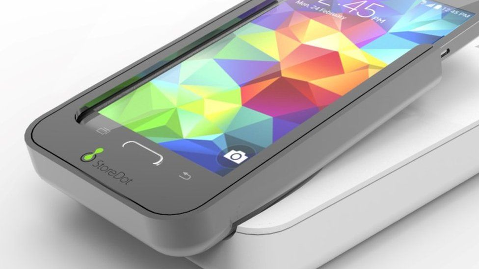 StoreDot smartphone charger