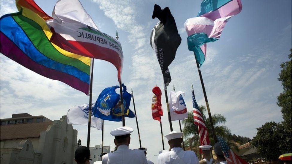 San Diego LGBT pride parade, 15 July 2017