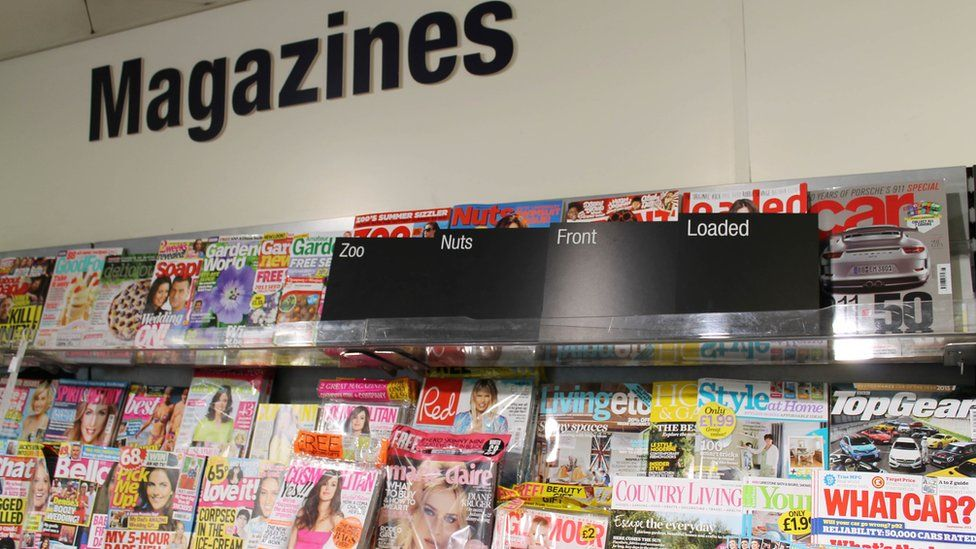 Magazines at Co-op