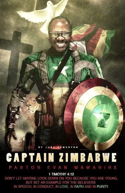 Captain Zimbabwe poster
