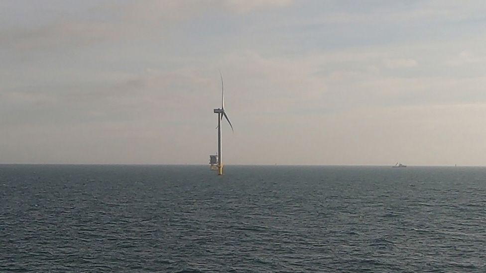 First turbine